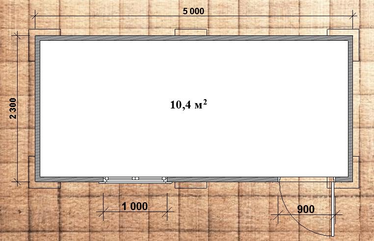bytovka-5x2-plan