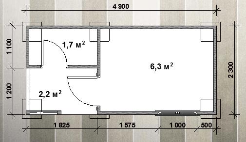 plan-bytovka-s verandoy